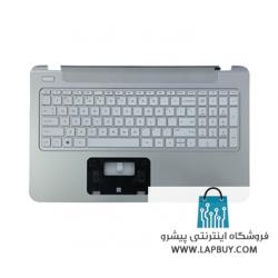HP PAVILION 15-P SERIES قاب دور کیبورد لپ تاپ اچ پی - به همراه کیبورد