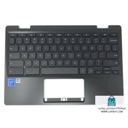 Asus Chromebook 11 C204EE قاب دور کیبورد لپ تاپ ایسوس - به همراه کیبورد