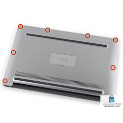 Dell Studio XPS 1340 قاب کف لپ تاپ دل