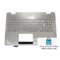 Asus N551 Series قاب دور کیبورد لپ تاپ ایسوس